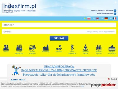 Katalog Firm - Indexfirm.pl