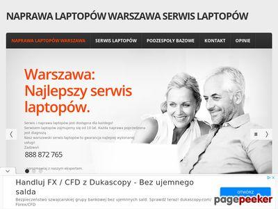 Naprawa laptopów Warszawa - serwis laptopów.