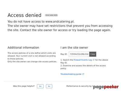AND Catering Toruń, Wesela