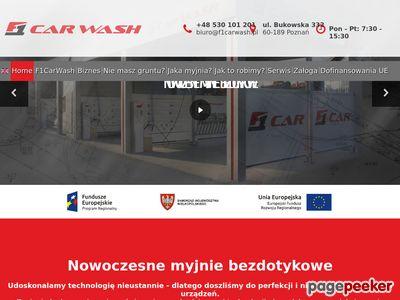 F1 CAR WASH - Nowoczesne myjnie bezdotykowe Poznań